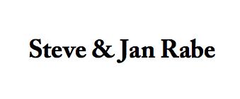 Steve & Jan Rabe